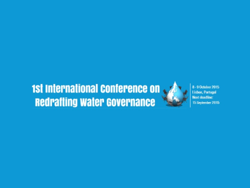 1st International Conference on Redrafting Water Governance